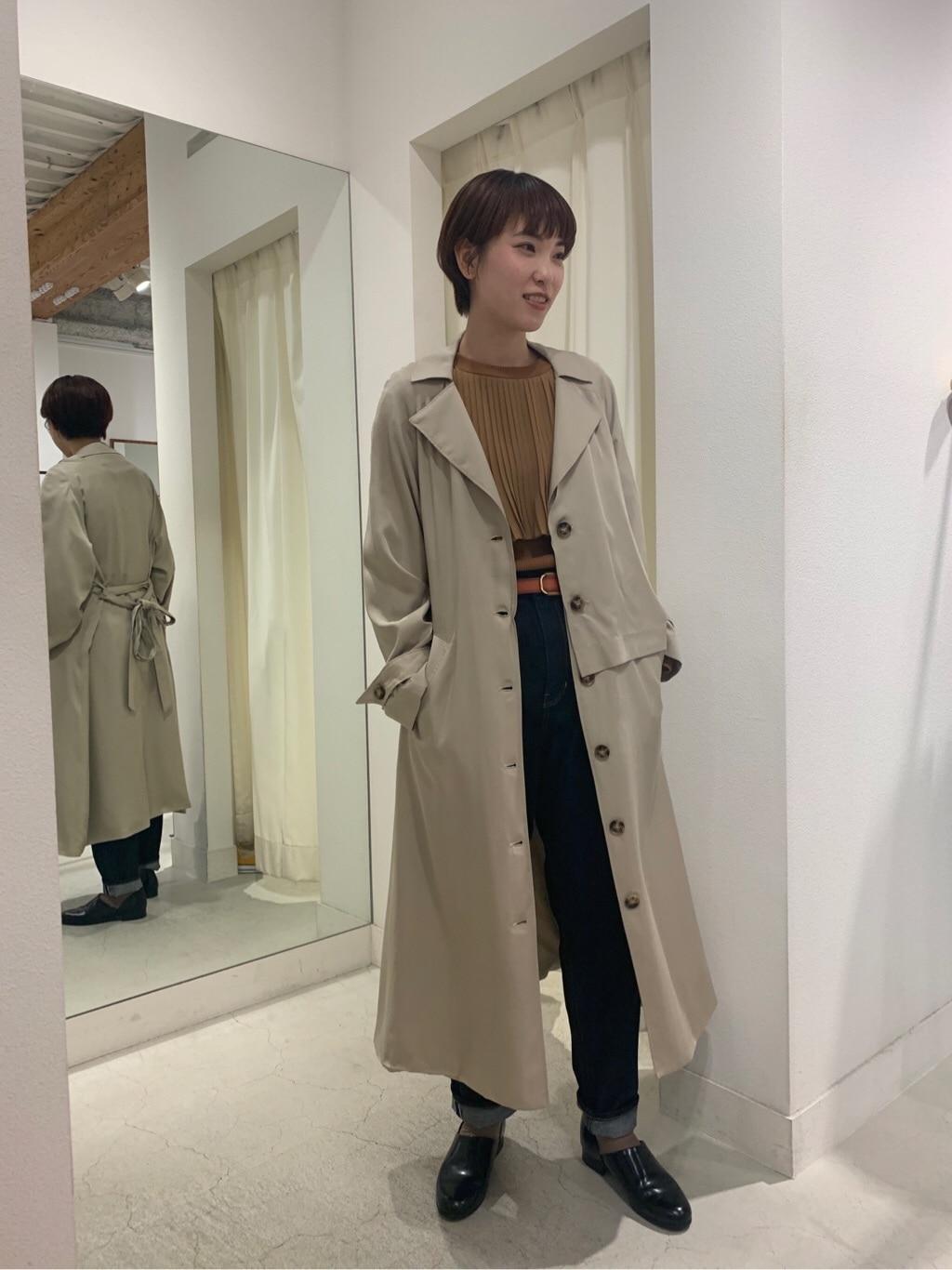 l'atelier du savon 名古屋栄路面 身長:161cm 2020.02.06