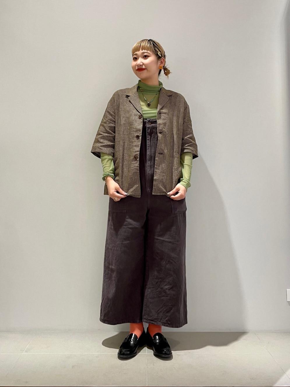 l'atelier du savon 二子玉川ライズ 身長:158cm 2021.05.26