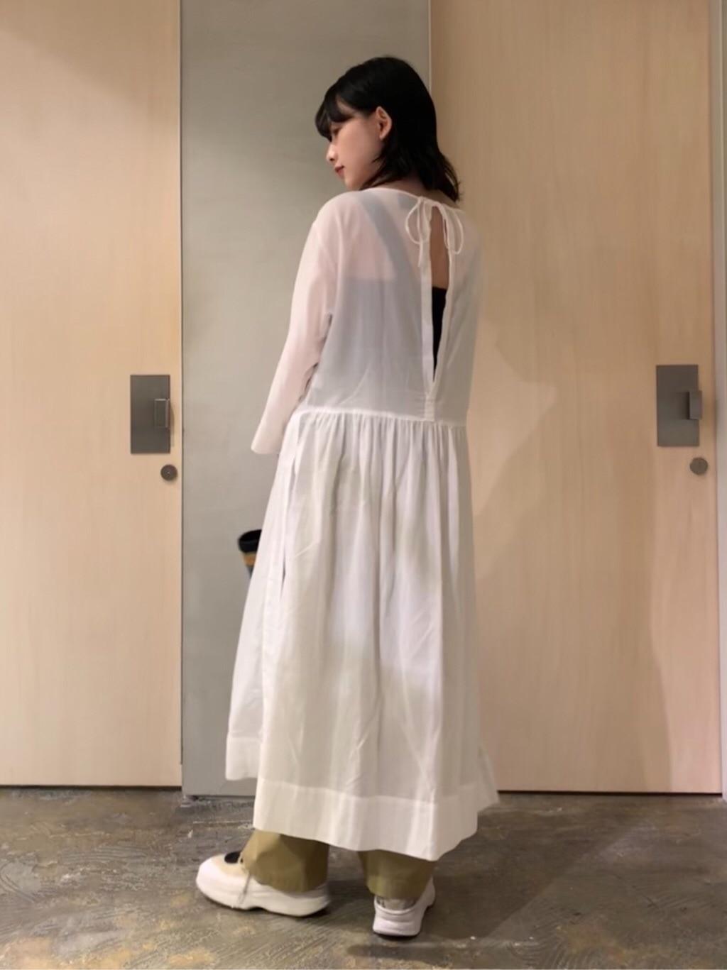note et silence. ルミネ新宿 身長:159cm 2020.06.12