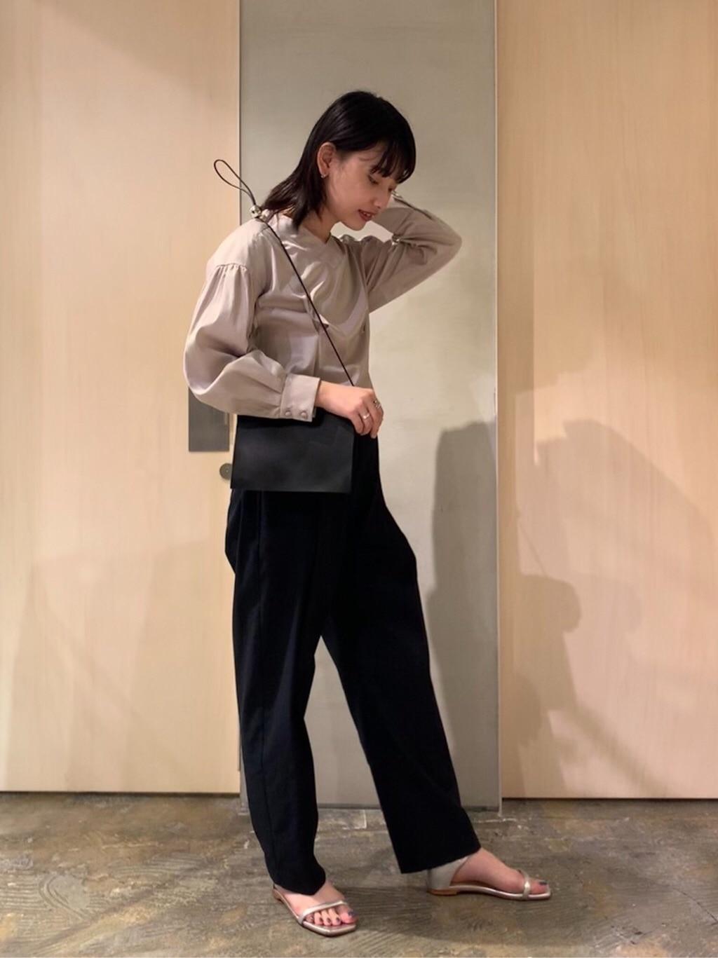 note et silence. ルミネ新宿 身長:160cm 2020.07.31