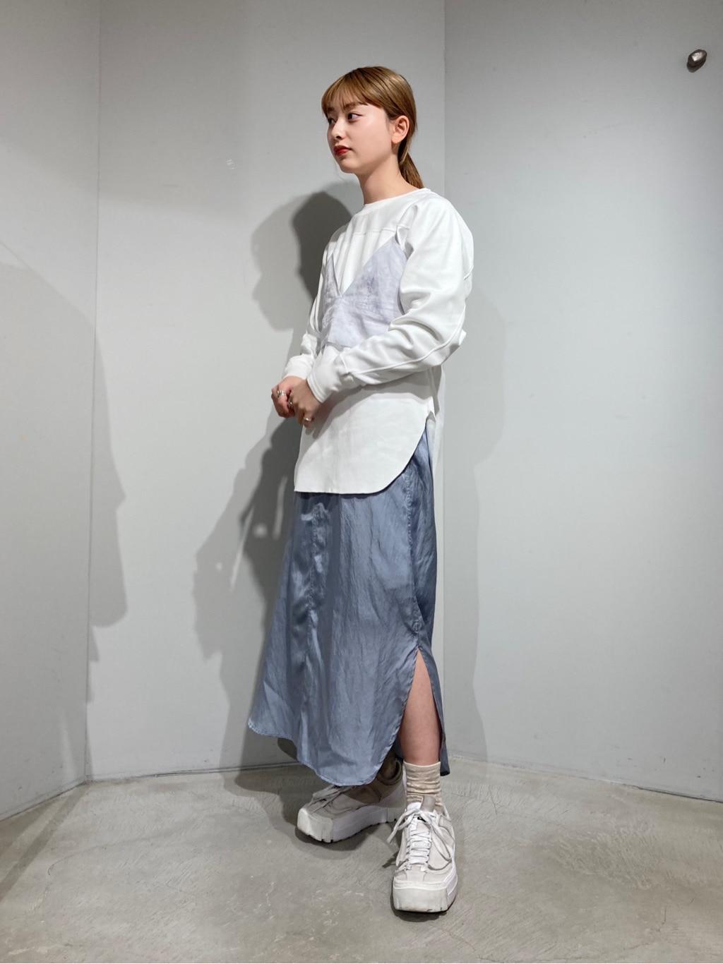 note et silence. ルミネ新宿 身長:160cm 2021.02.08