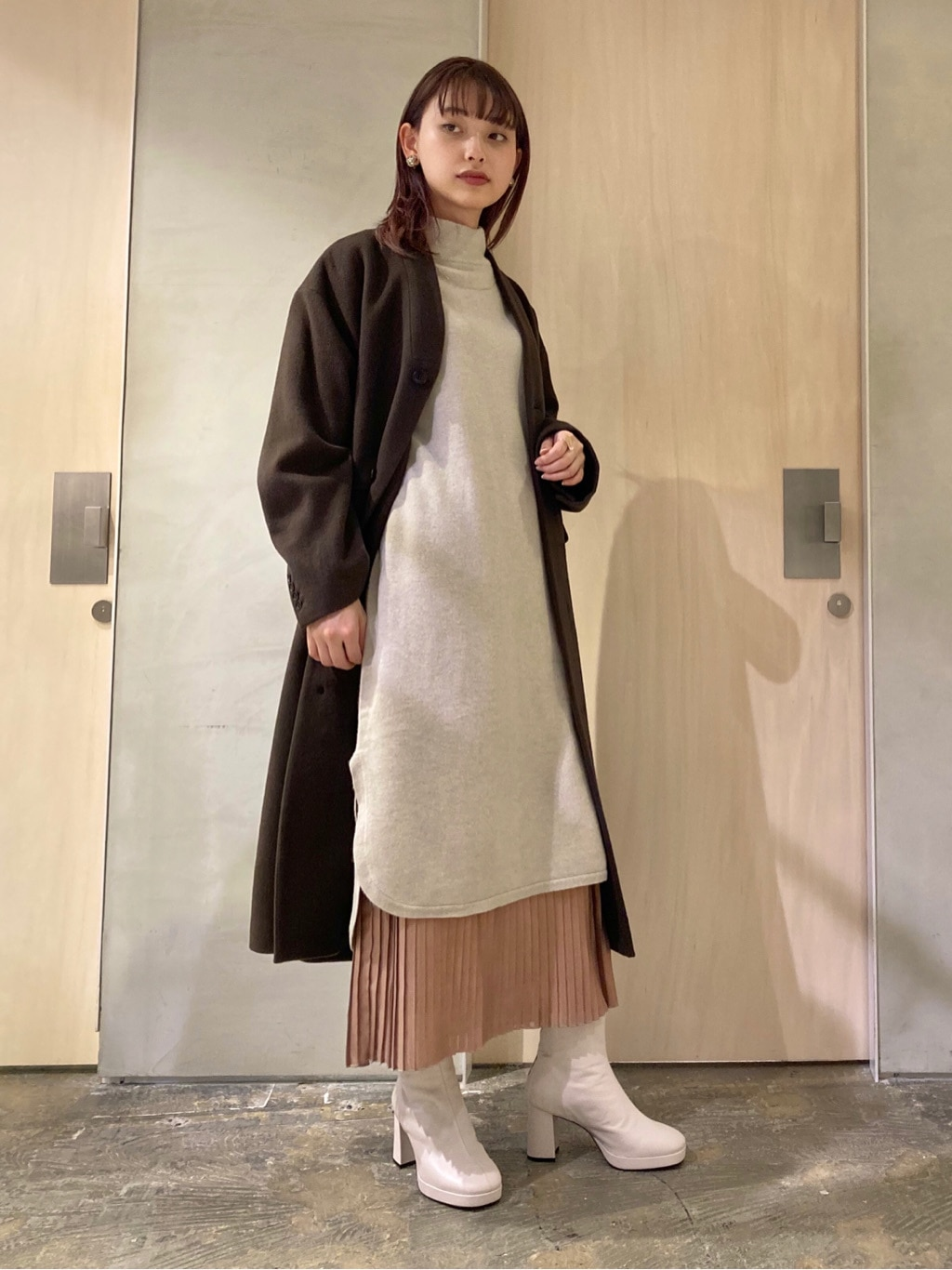 note et silence. ルミネ新宿 身長:160cm 2021.01.12
