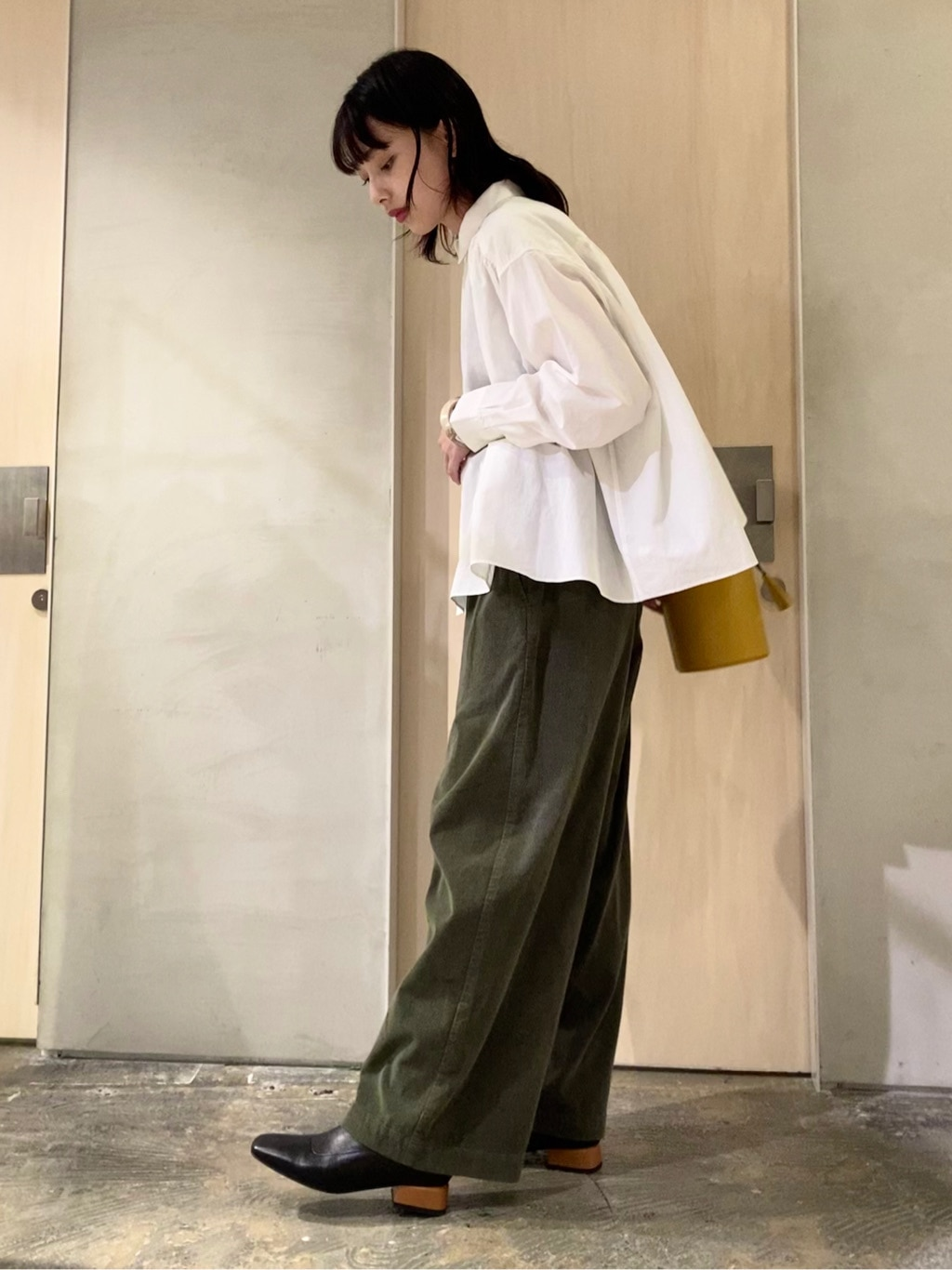 note et silence. ルミネ新宿 身長:160cm 2020.10.12
