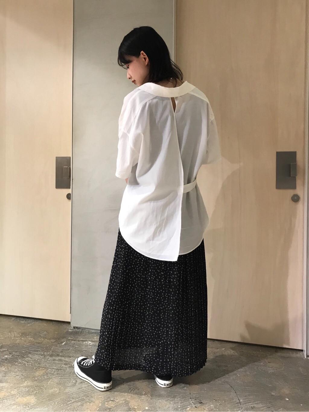 note et silence. ルミネ新宿 身長:159cm 2020.06.23