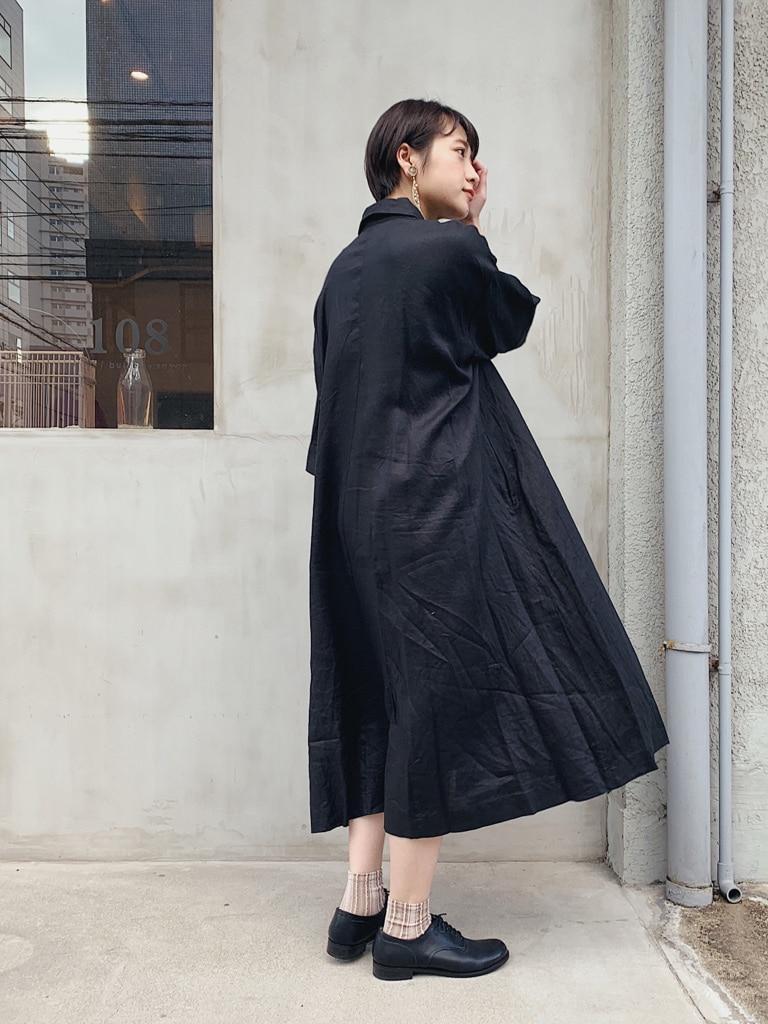 108 yuni / bulle de savon 福岡薬院路面 身長:158cm 2020.03.09