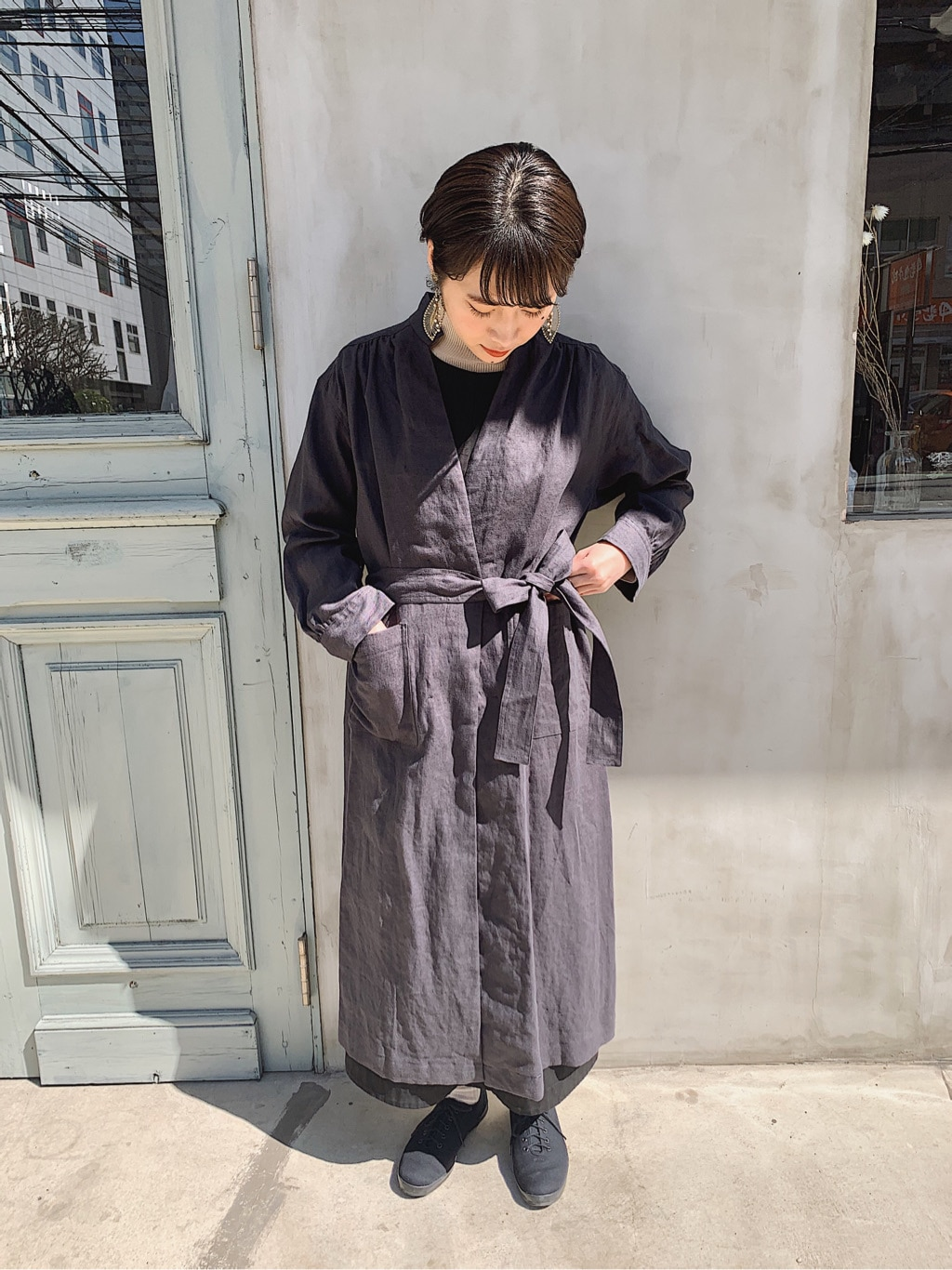 108 yuni / bulle de savon 福岡薬院路面 身長:158cm 2020.03.11