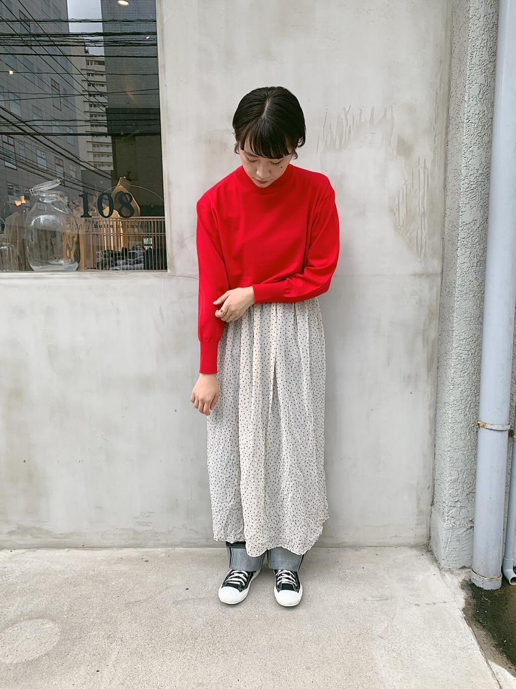 108 yuni / bulle de savon 福岡薬院路面 身長:158cm 2019.09.03