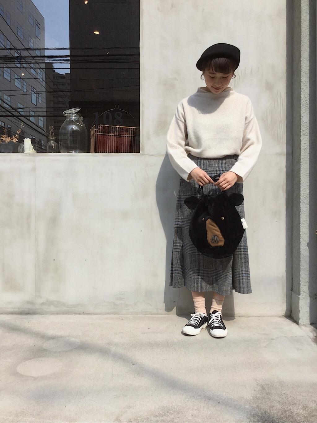 108 yuni / bulle de savon 福岡薬院路面 身長:158cm 2019.10.09