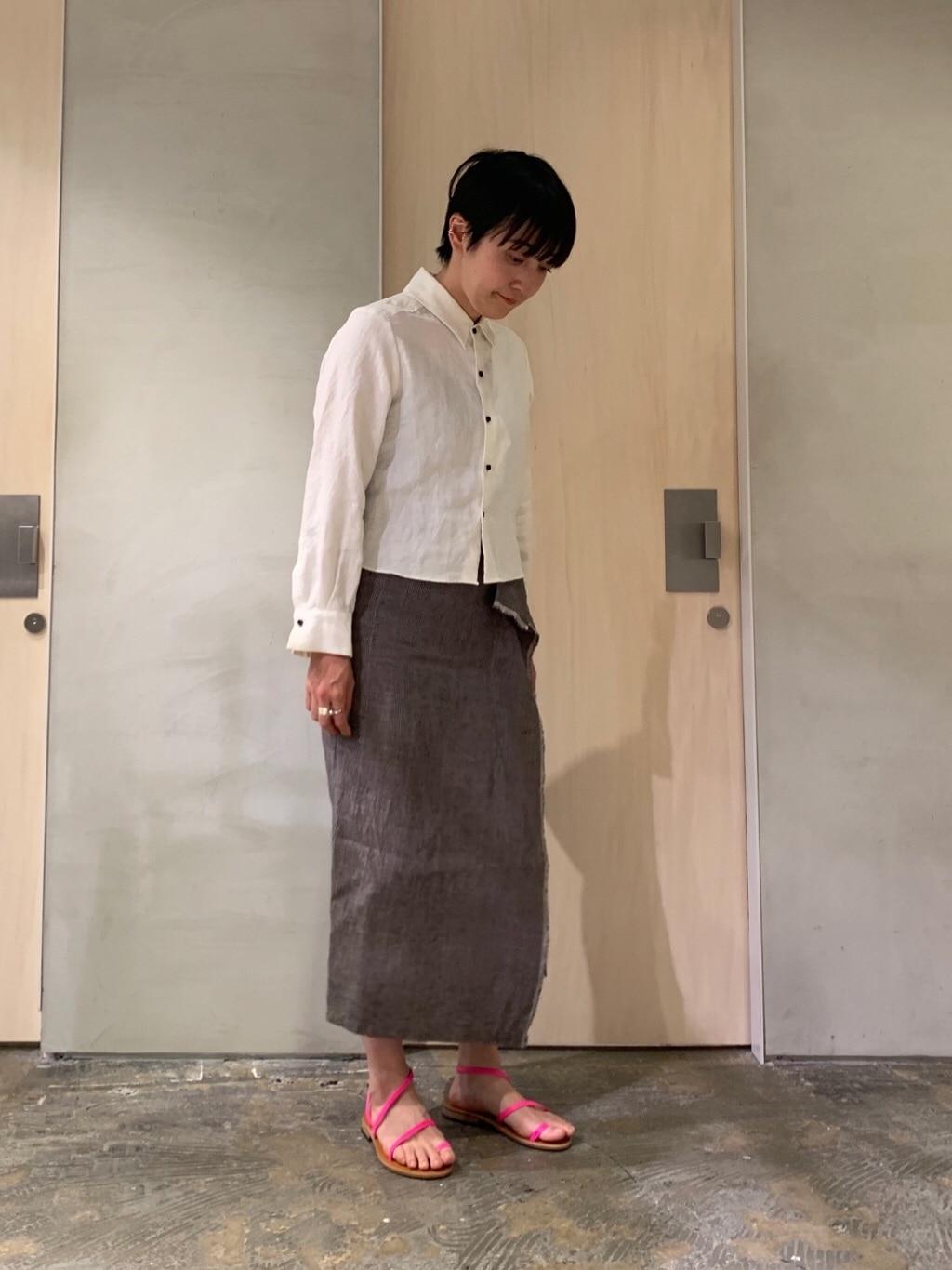 note et silence. ルミネ新宿 身長:158cm 2020.04.02