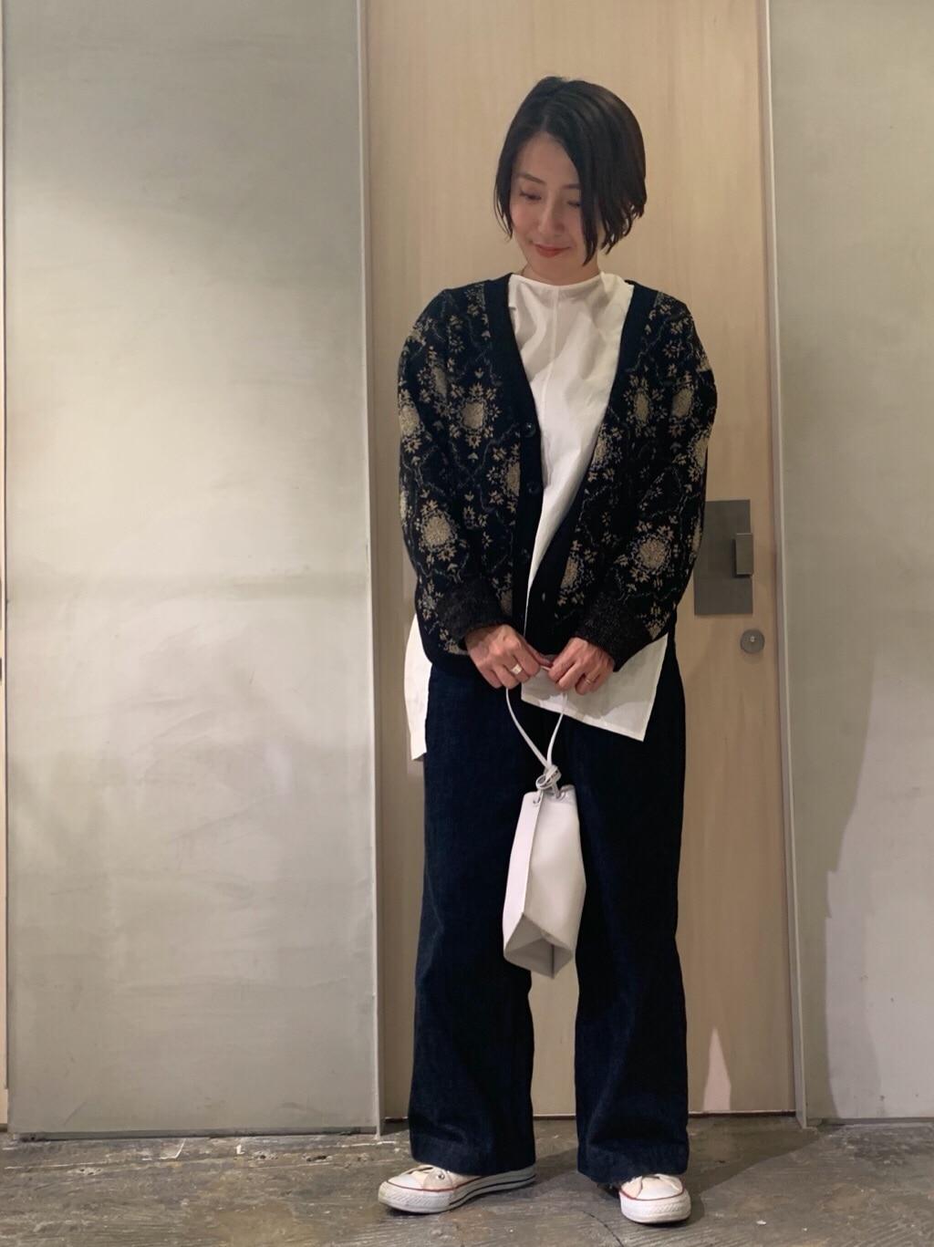 note et silence. 吉祥寺路面 身長:158cm 2019.12.03