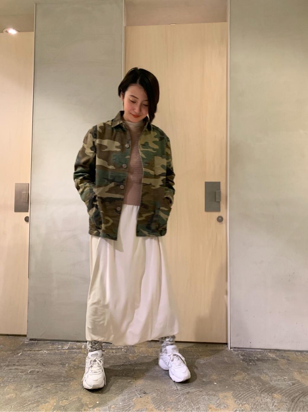 note et silence. ルミネ新宿 身長:158cm 2020.01.23