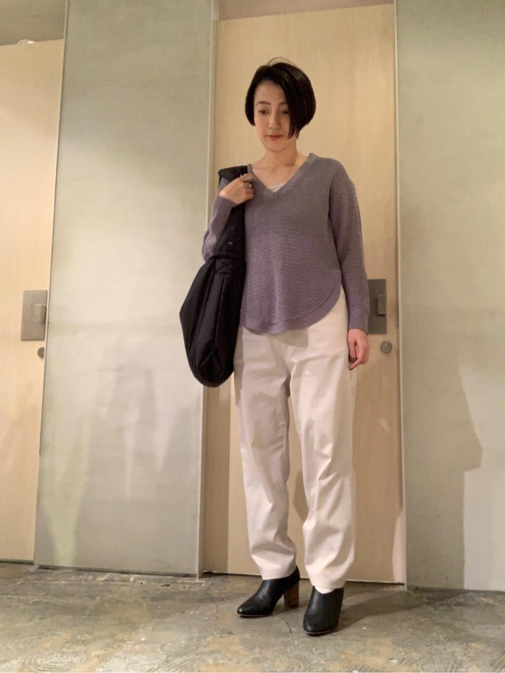 note et silence. ルミネ新宿 身長:158cm 2020.01.21