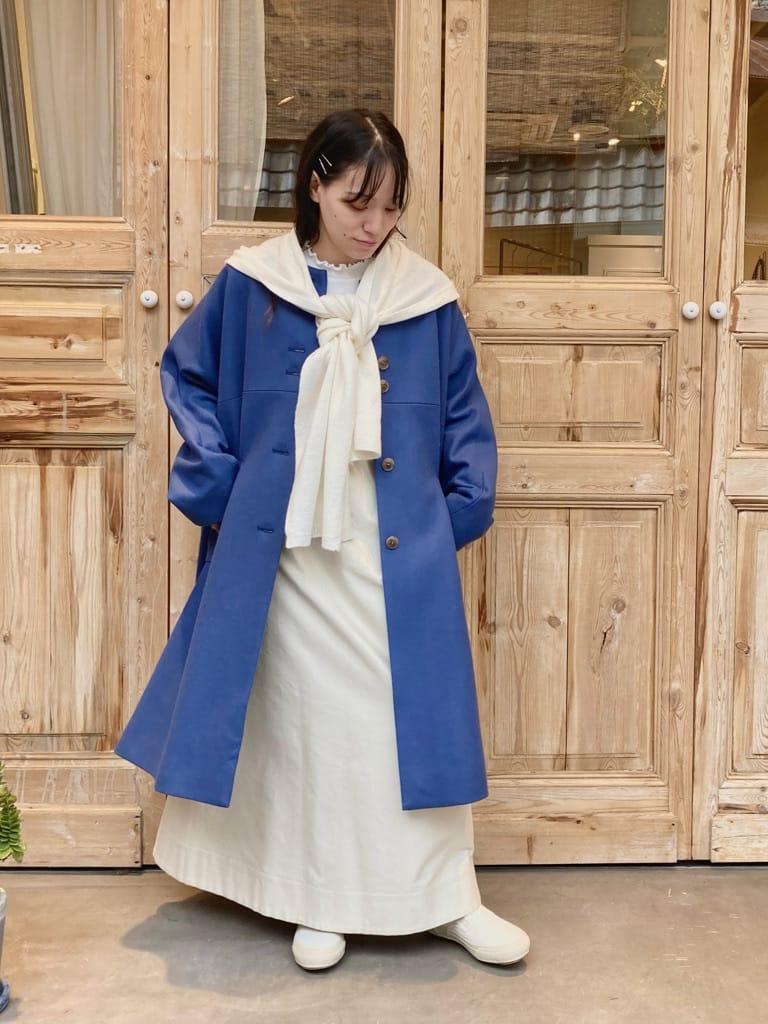 【 NEW 】yuni / bulle de savon 京都路面 身長:149cm 2021.09.23