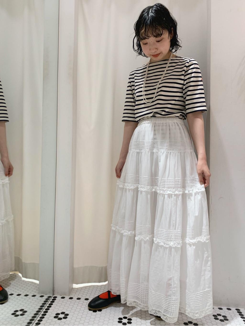 AMB SHOP CHILD WOMAN CHILD WOMAN , PAR ICI ルミネ横浜 身長:158cm 2020.06.29