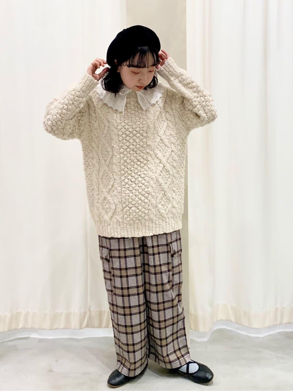 【 NEW 】- CHILD WOMAN CHILD WOMAN , PAR ICI ルミネ横浜 身長:157cm 2021.10.25