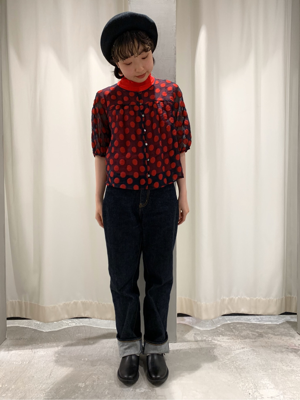AMB SHOP CHILD WOMAN CHILD WOMAN , PAR ICI ルミネ横浜 身長:158cm 2020.07.01