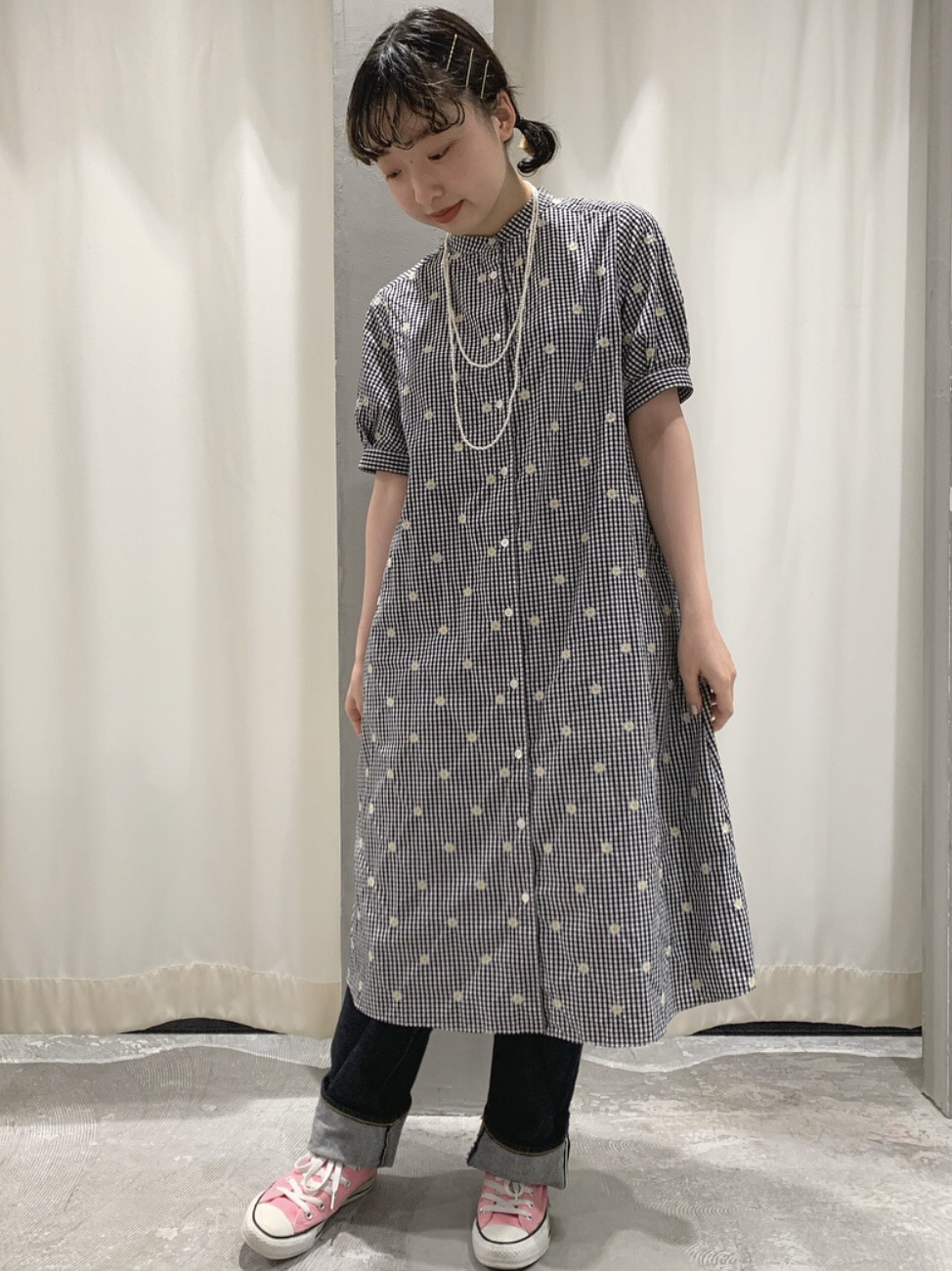 【 NEW 】AMB SHOP CHILD WOMAN CHILD WOMAN , PAR ICI ルミネ横浜 身長:158cm 2020.07.03