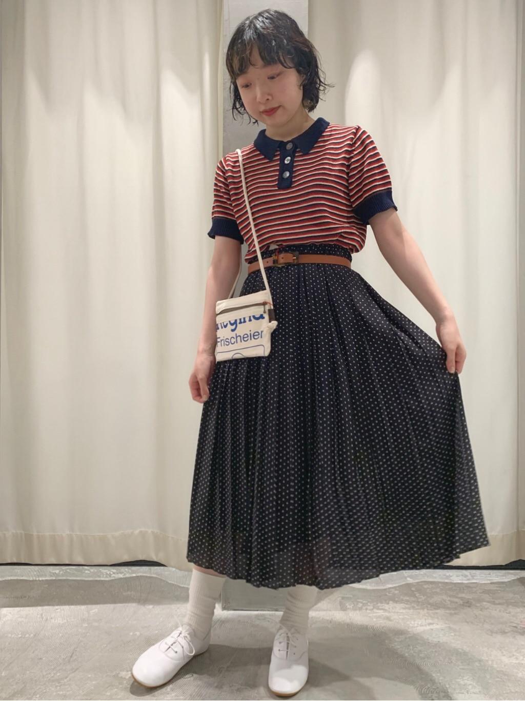 AMB SHOP CHILD WOMAN CHILD WOMAN , PAR ICI ルミネ横浜 身長:158cm 2020.06.15