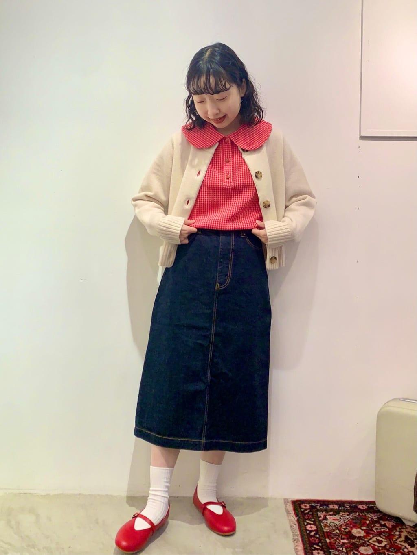 - CHILD WOMAN CHILD WOMAN , PAR ICI ルミネ横浜 身長:157cm 2021.10.15