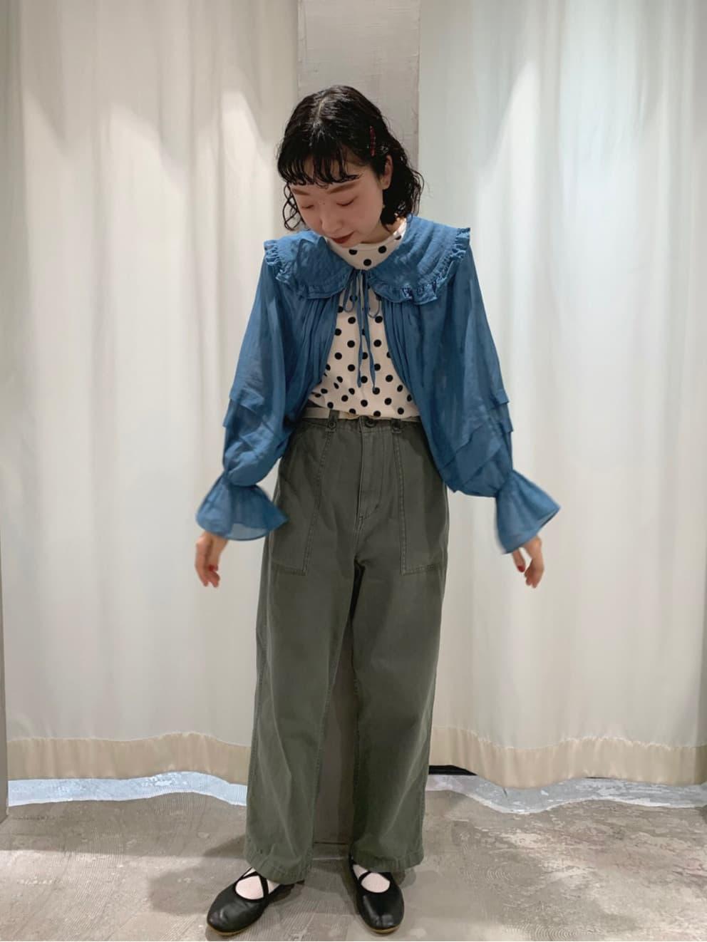 - CHILD WOMAN CHILD WOMAN , PAR ICI ルミネ横浜 身長:157cm 2021.08.17