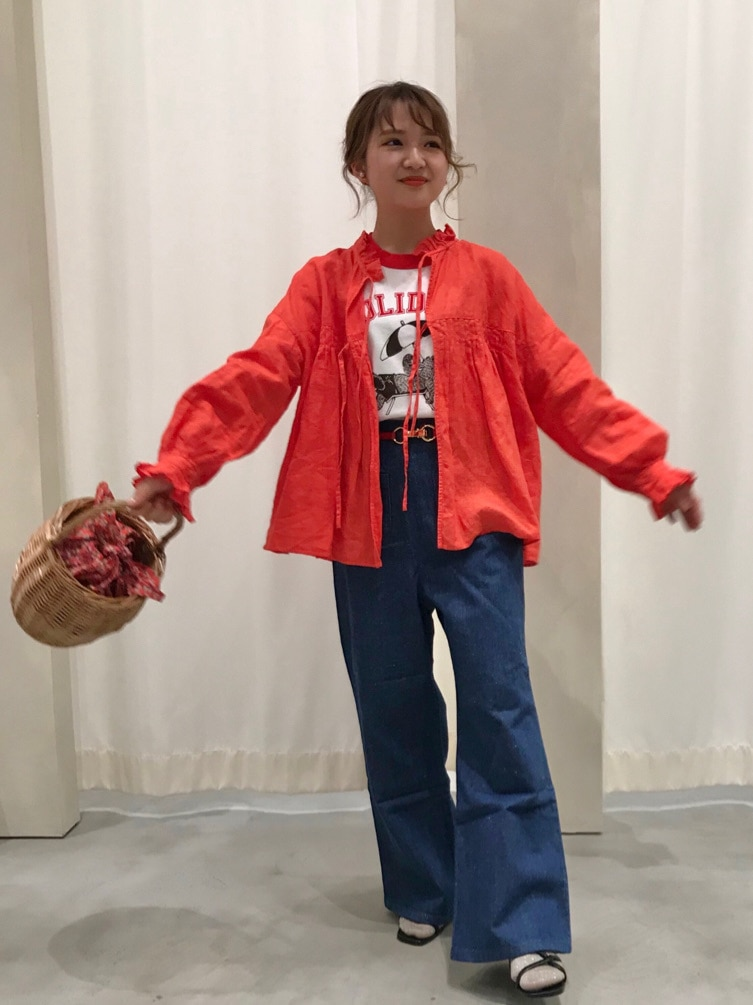 Dot and Stripes CHILD WOMAN ルミネ池袋 身長:143cm 2021.04.05