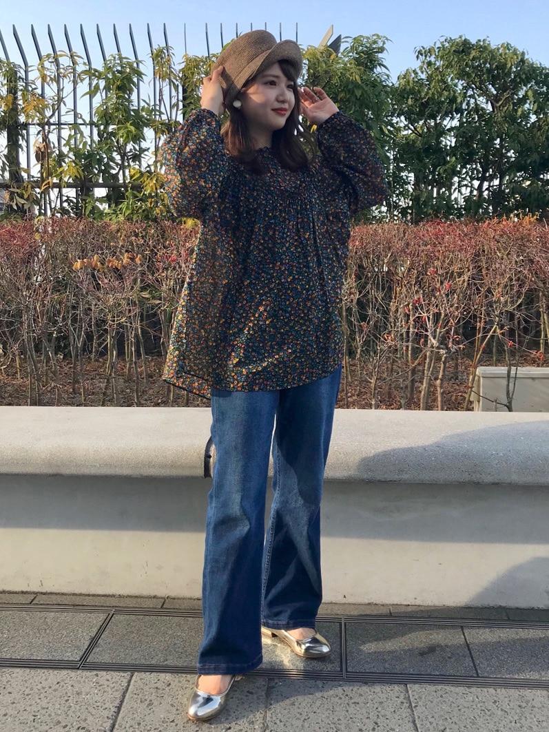 Dot and Stripes CHILD WOMAN ルミネ池袋 身長:143cm 2021.03.22