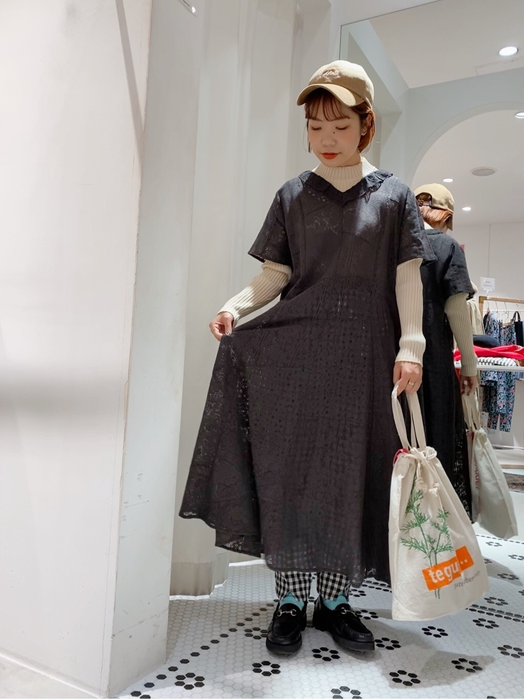 Dot and Stripes CHILD WOMAN 新宿ミロード 身長:153cm 2020.03.25