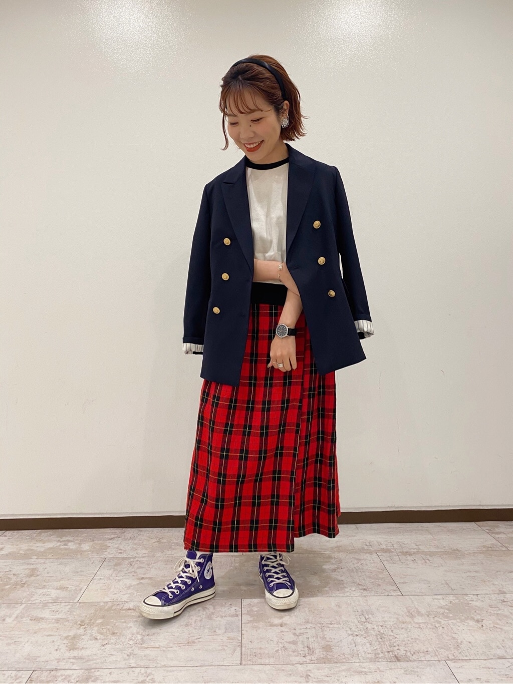Dot and Stripes CHILD WOMAN 新宿ミロード 身長:153cm 2020.04.20
