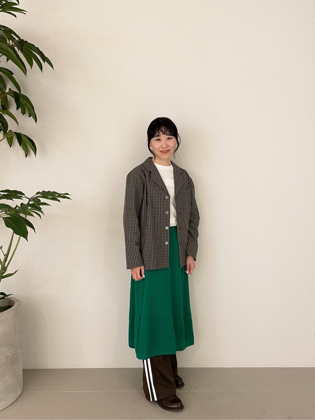 l'atelier du savon 二子玉川ライズ 身長:154cm 2021.04.30