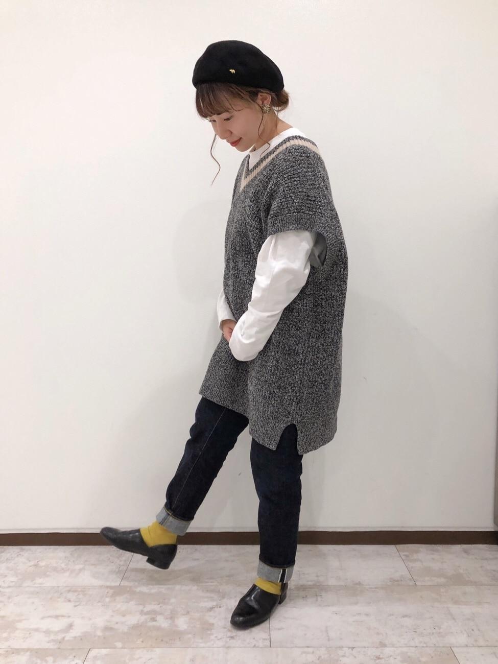 Dot and Stripes CHILD WOMAN ルミネ池袋 身長:158cm 2019.09.29