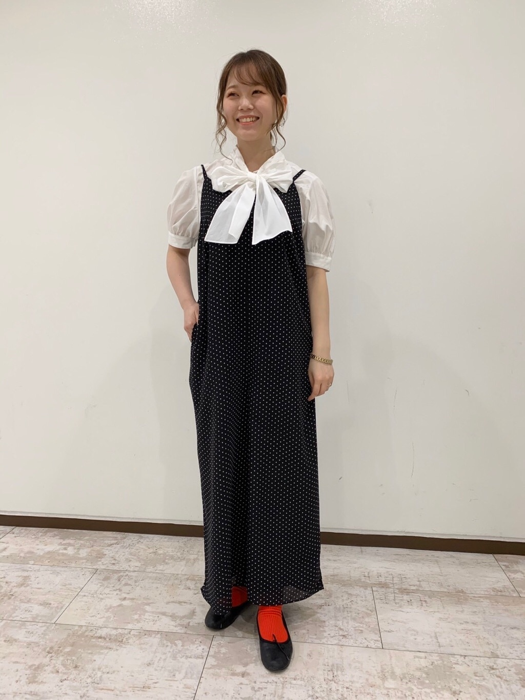 Dot and Stripes CHILD WOMAN 新宿ミロード 身長:157cm 2020.04.19