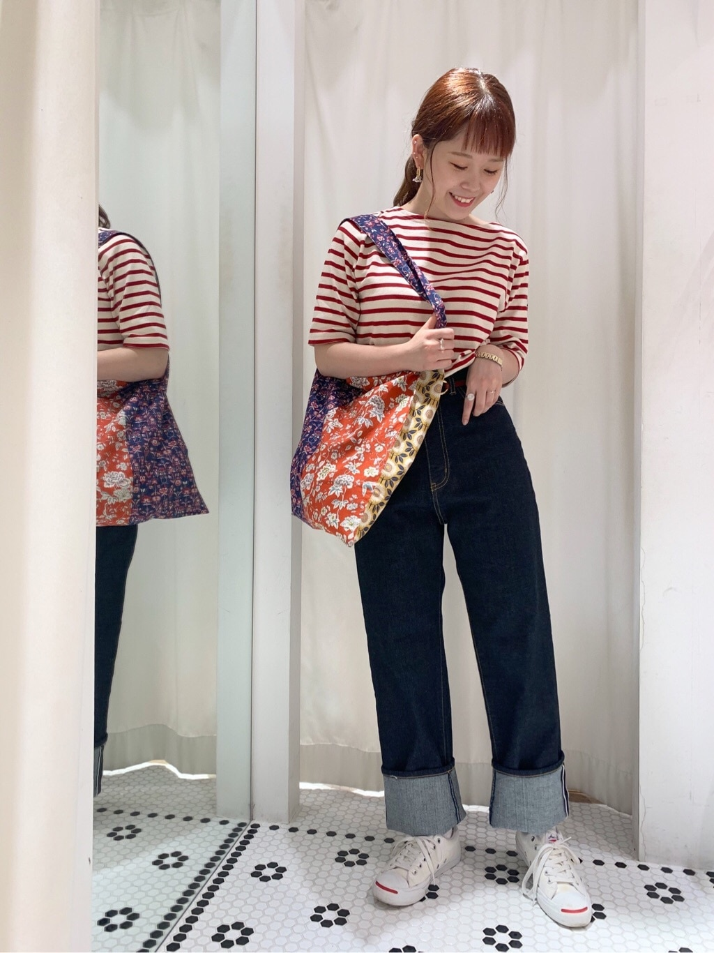 Dot and Stripes CHILD WOMAN 新宿ミロード 身長:157cm 2020.08.18
