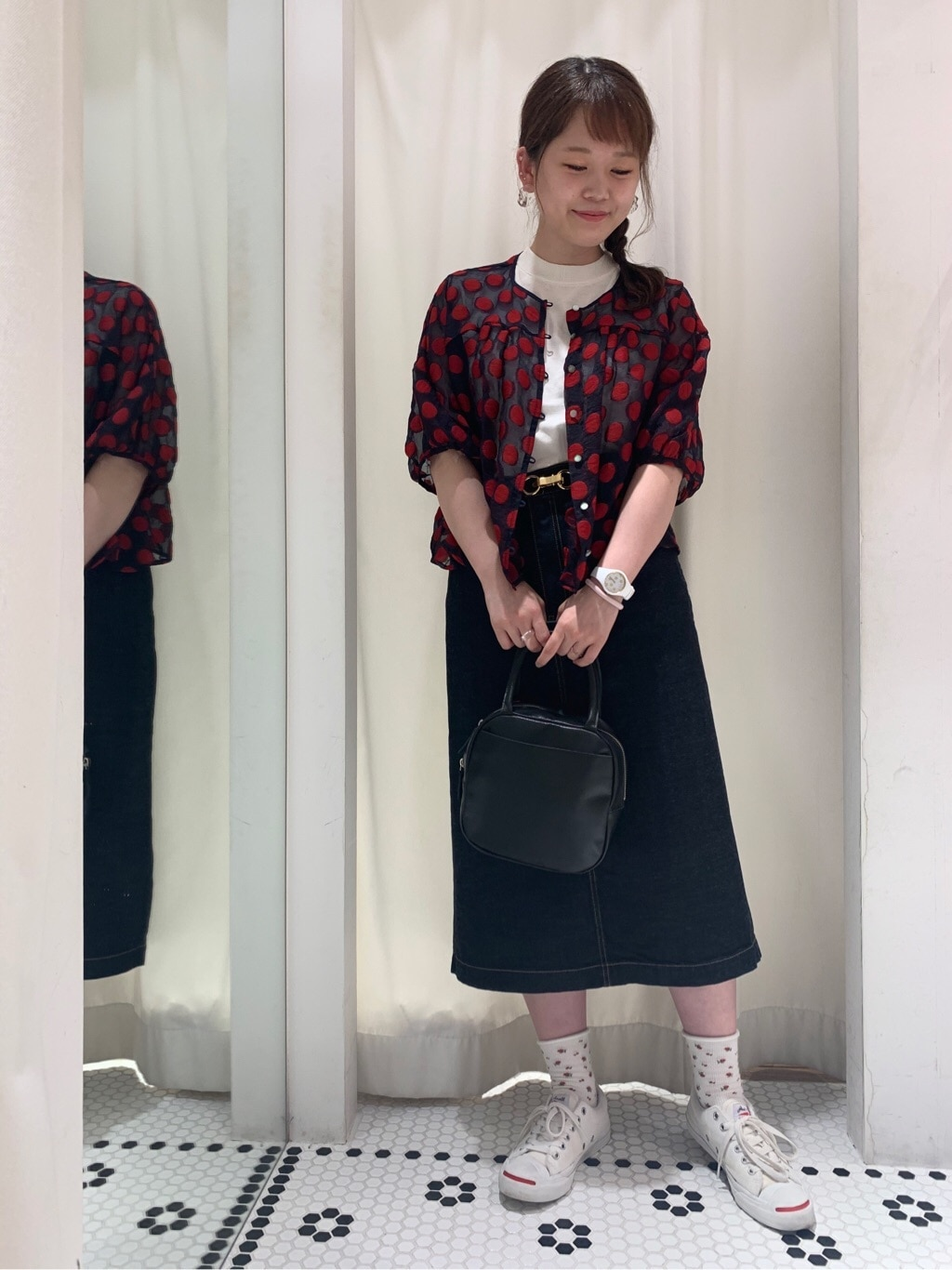 Dot and Stripes CHILD WOMAN 新宿ミロード 身長:157cm 2020.07.29