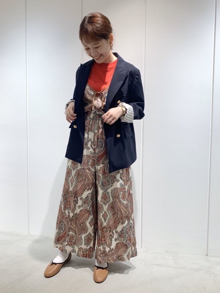 Dot and Stripes CHILD WOMAN 新宿ミロード 身長:157cm 2020.09.01