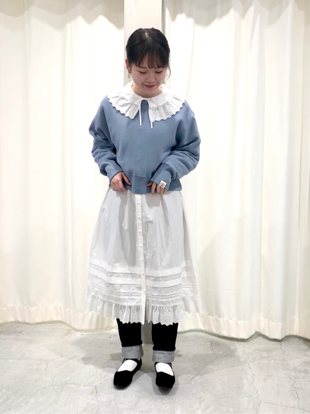 Dot and Stripes CHILD WOMAN 新宿ミロード 身長:157cm 2021.01.21
