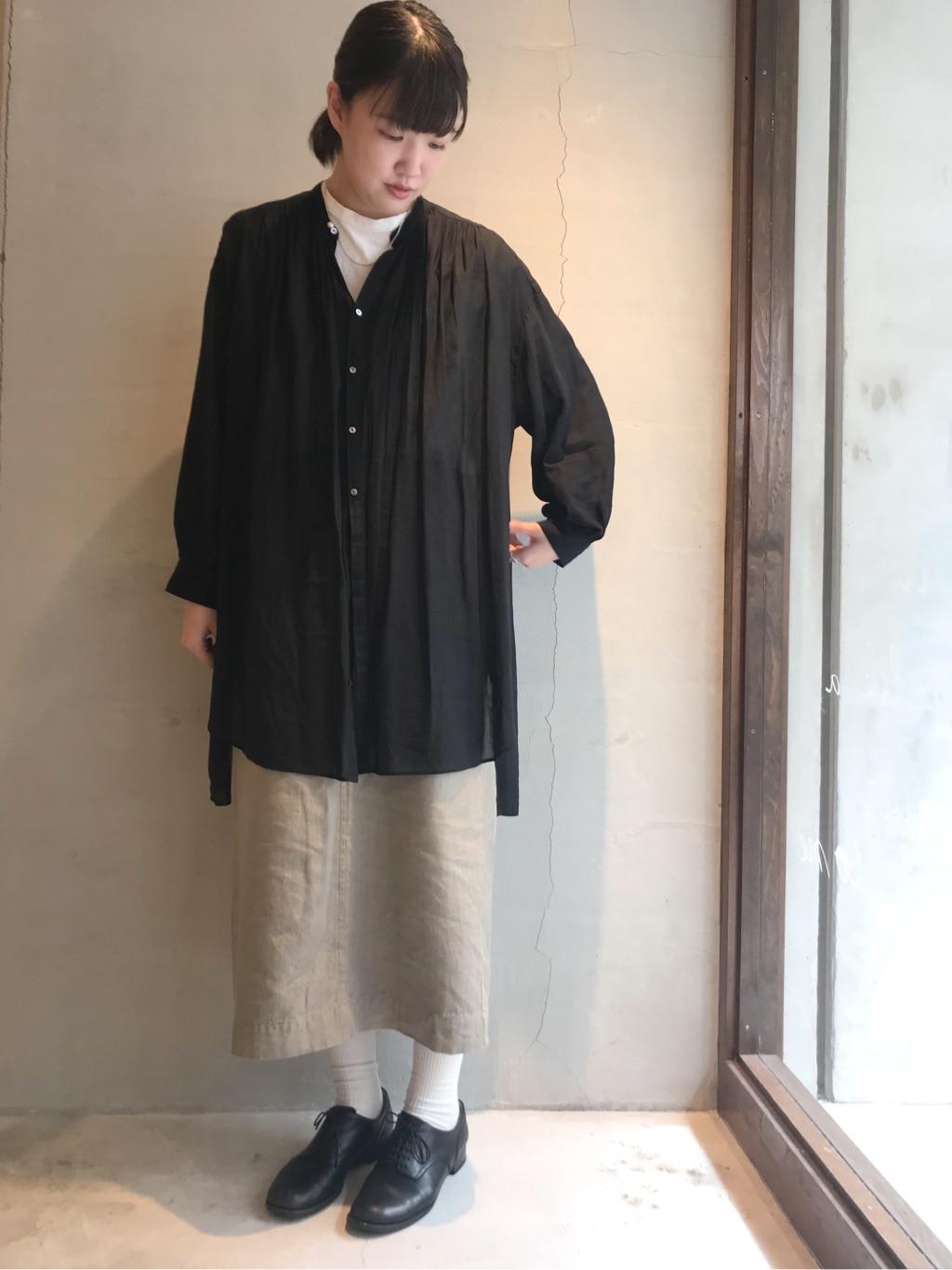 yuni 神戸路面 身長:166cm 2020.09.12