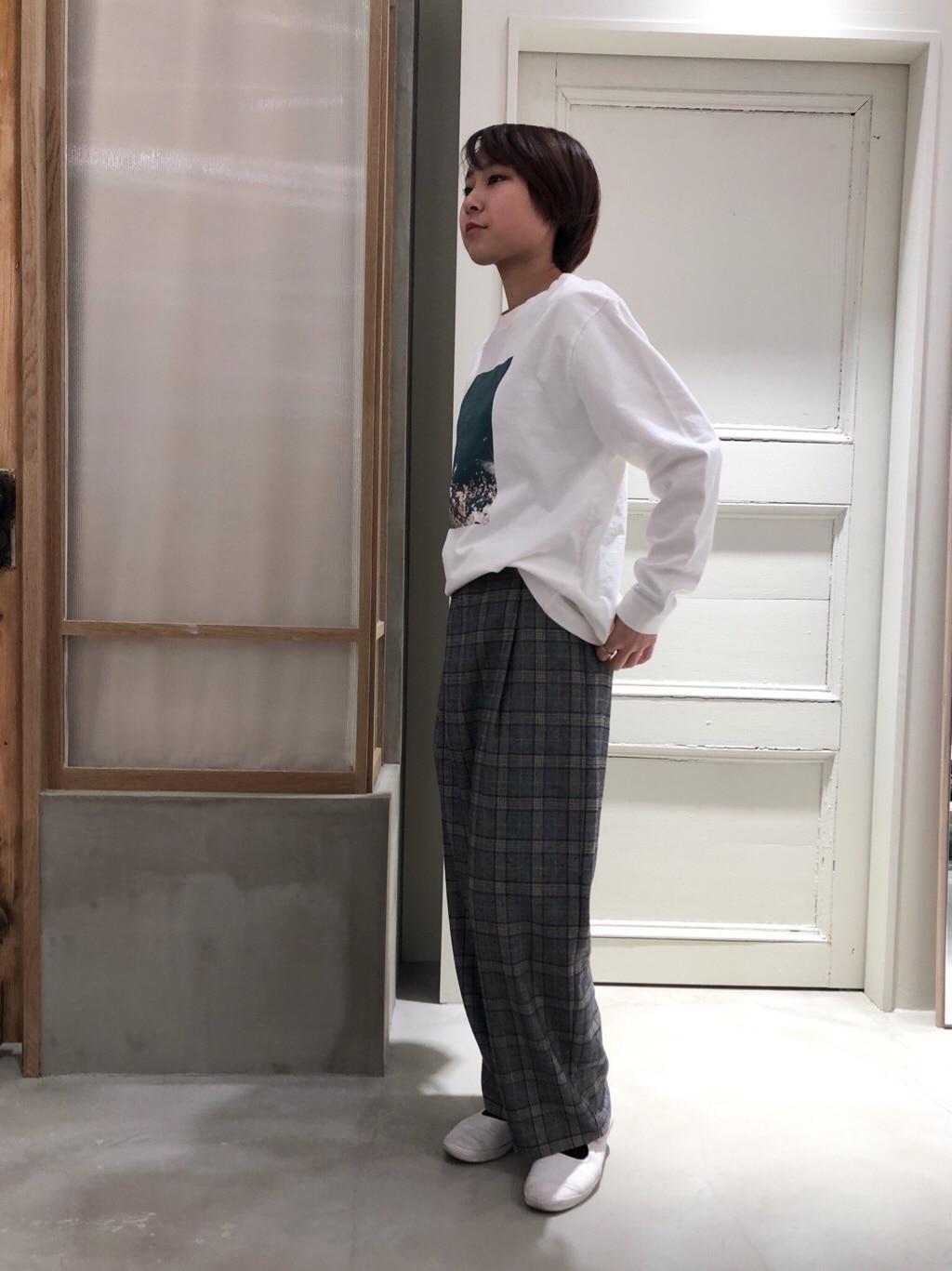 bulle de savon 渋谷スクランブルスクエア 身長:159cm 2019.12.21
