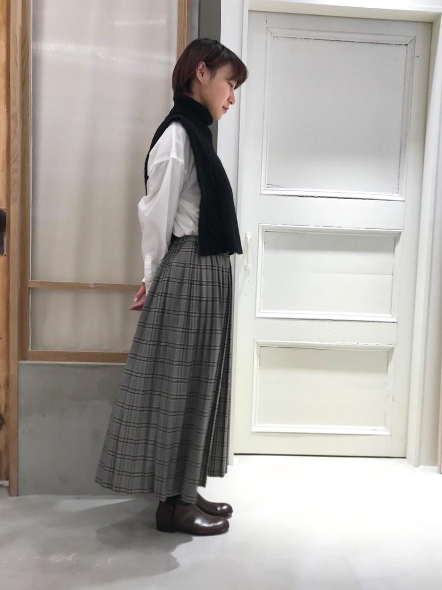 bulle de savon 渋谷スクランブルスクエア 身長:159cm 2019.12.04