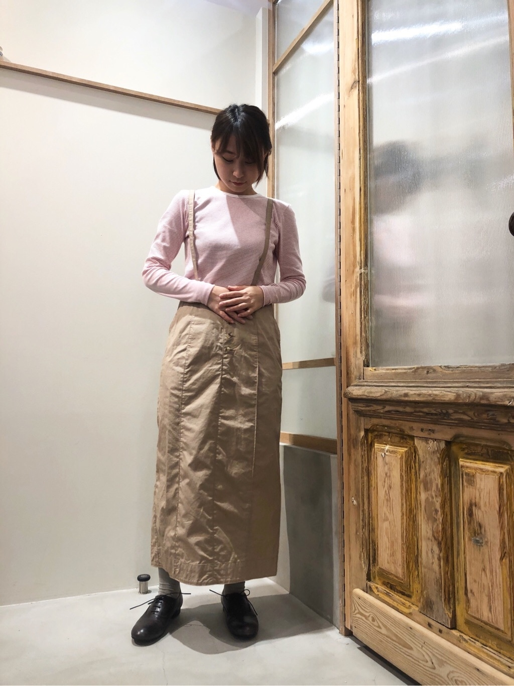 bulle de savon 渋谷スクランブルスクエア 身長:159cm 2020.03.23