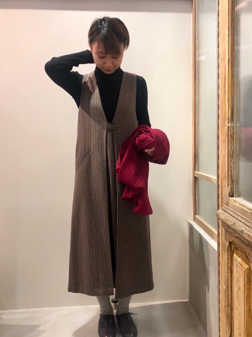 bulle de savon 渋谷スクランブルスクエア 身長:159cm 2019.11.23