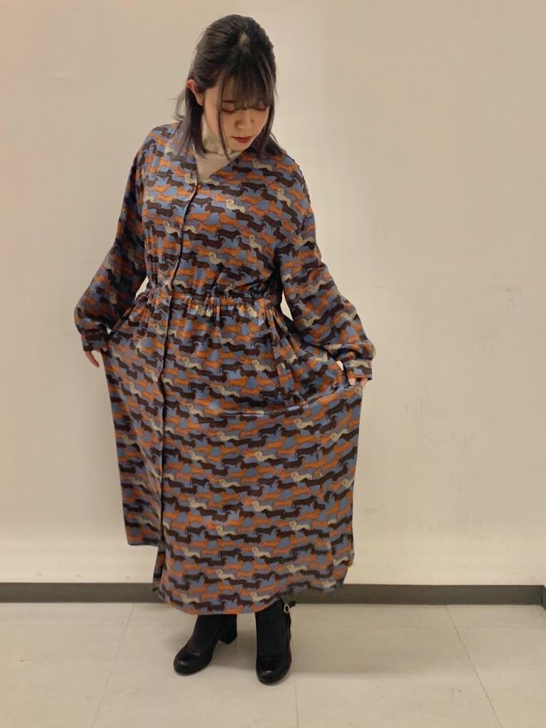 caph troupe 福岡薬院路面 身長:150cm 2019.10.15