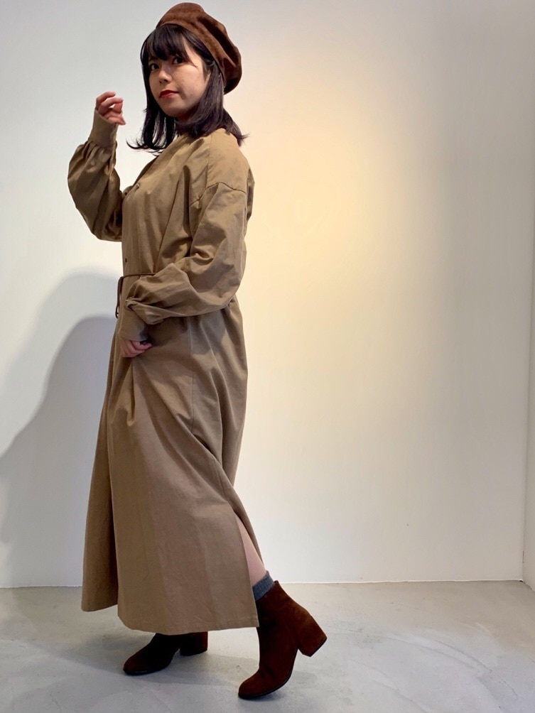 AMB SHOP l'atelier du savon FLAT AMB 天神イムズ 身長:150cm 2019.11.29