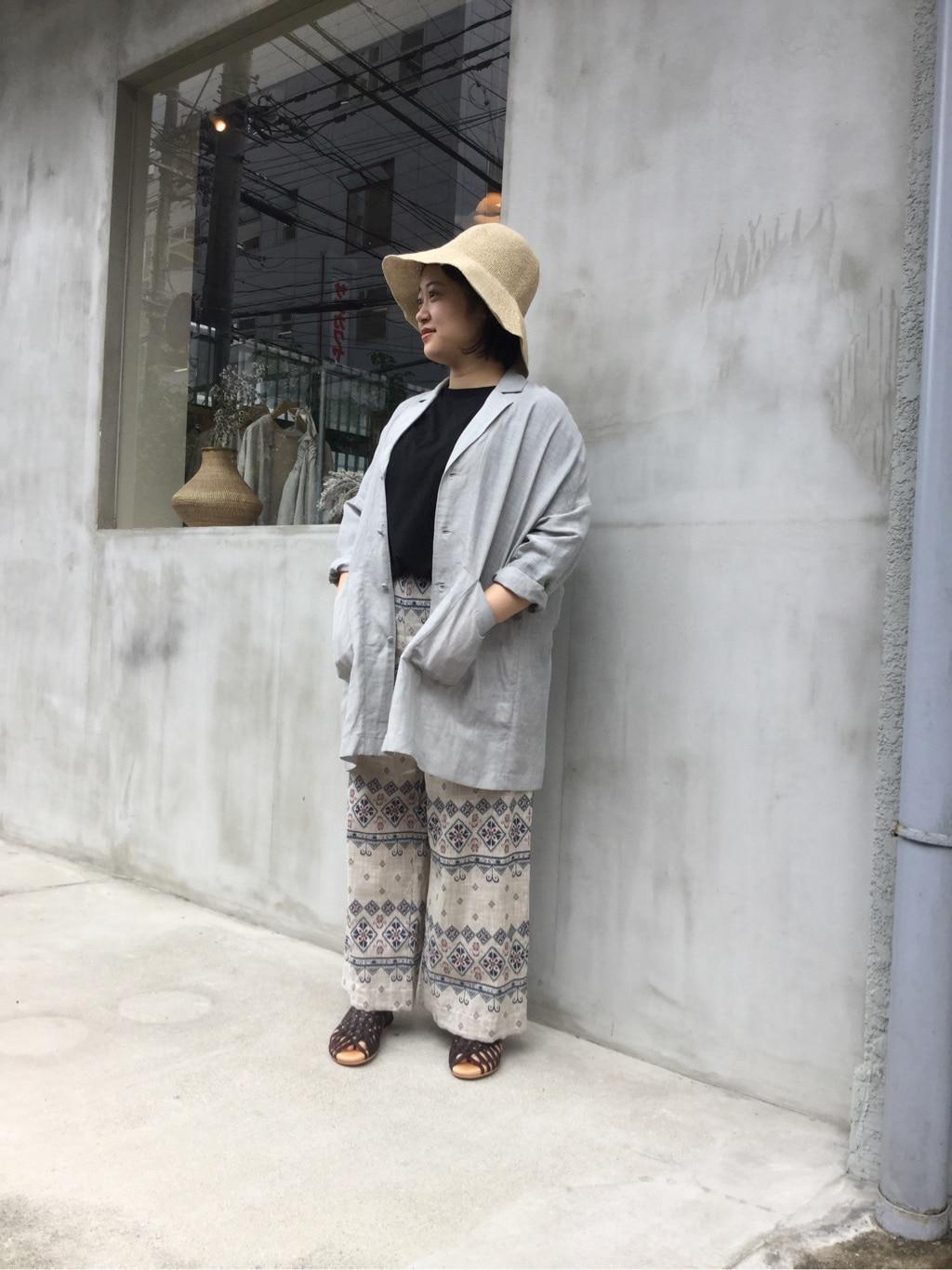108 yuni / bulle de savon 福岡薬院路面 身長:150cm 2020.07.19