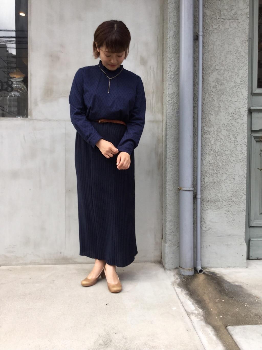 108 yuni / bulle de savon 福岡薬院路面 身長:150cm 2019.07.17