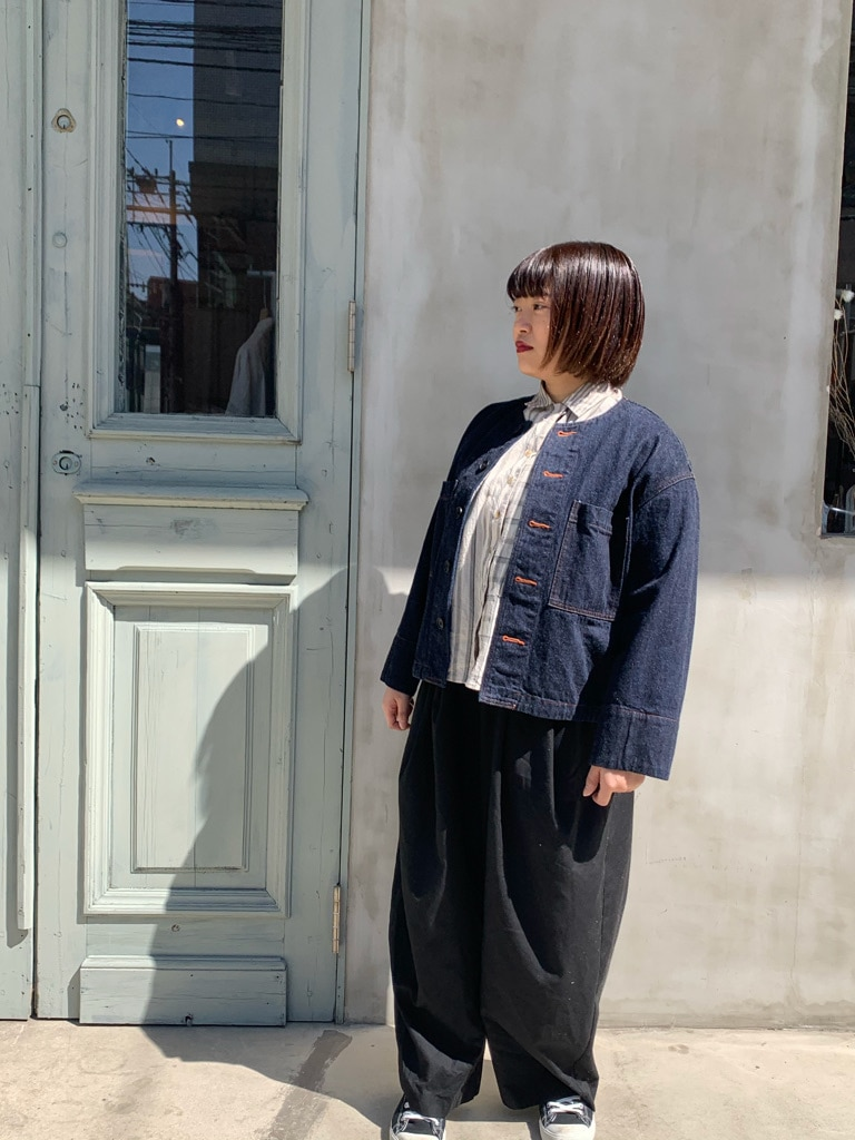 108 yuni / bulle de savon 福岡薬院路面 身長:150cm 2020.03.10