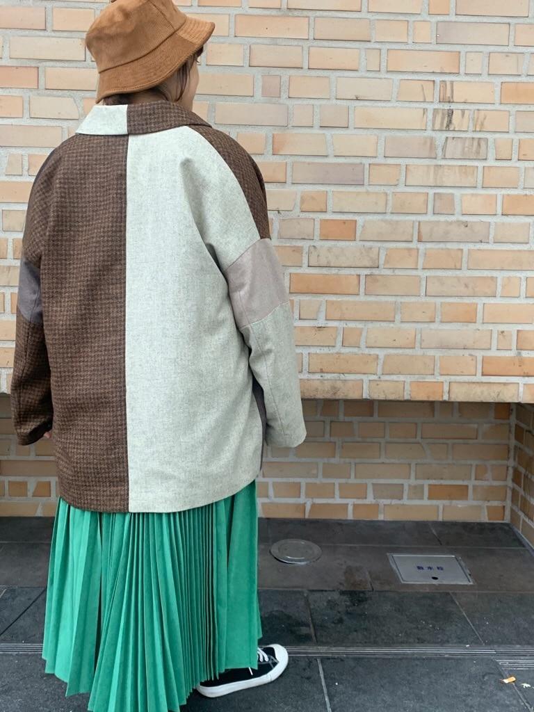 108 yuni / bulle de savon 福岡薬院路面 身長:150cm 2019.11.27