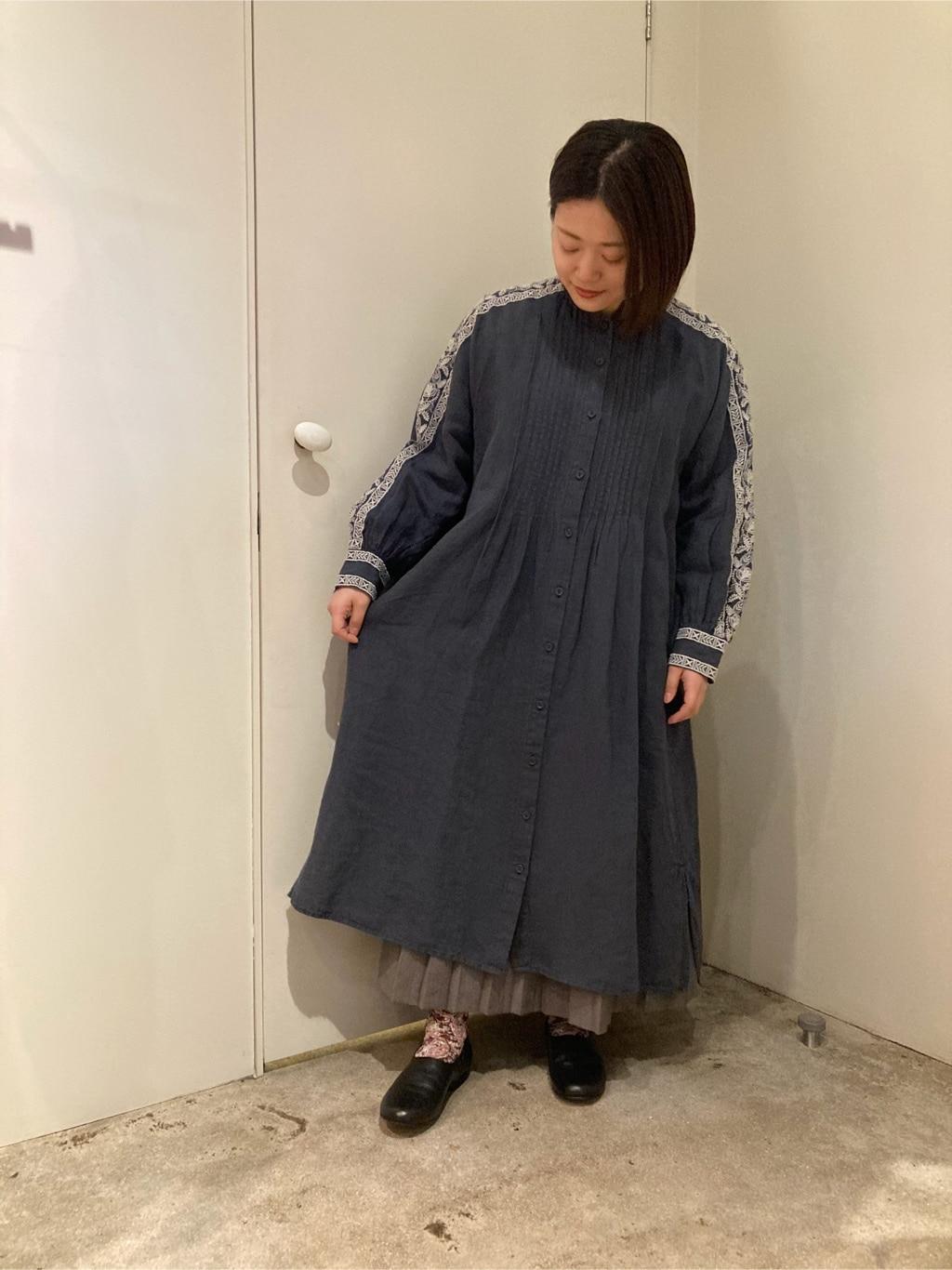 108 yuni / bulle de savon 福岡薬院路面 身長:150cm 2021.01.29
