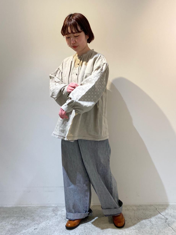 chambre de charme 京都路面 身長:150cm 2021.02.16