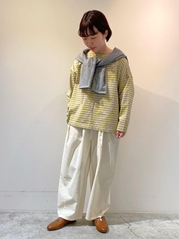 chambre de charme 京都路面 身長:150cm 2021.02.12