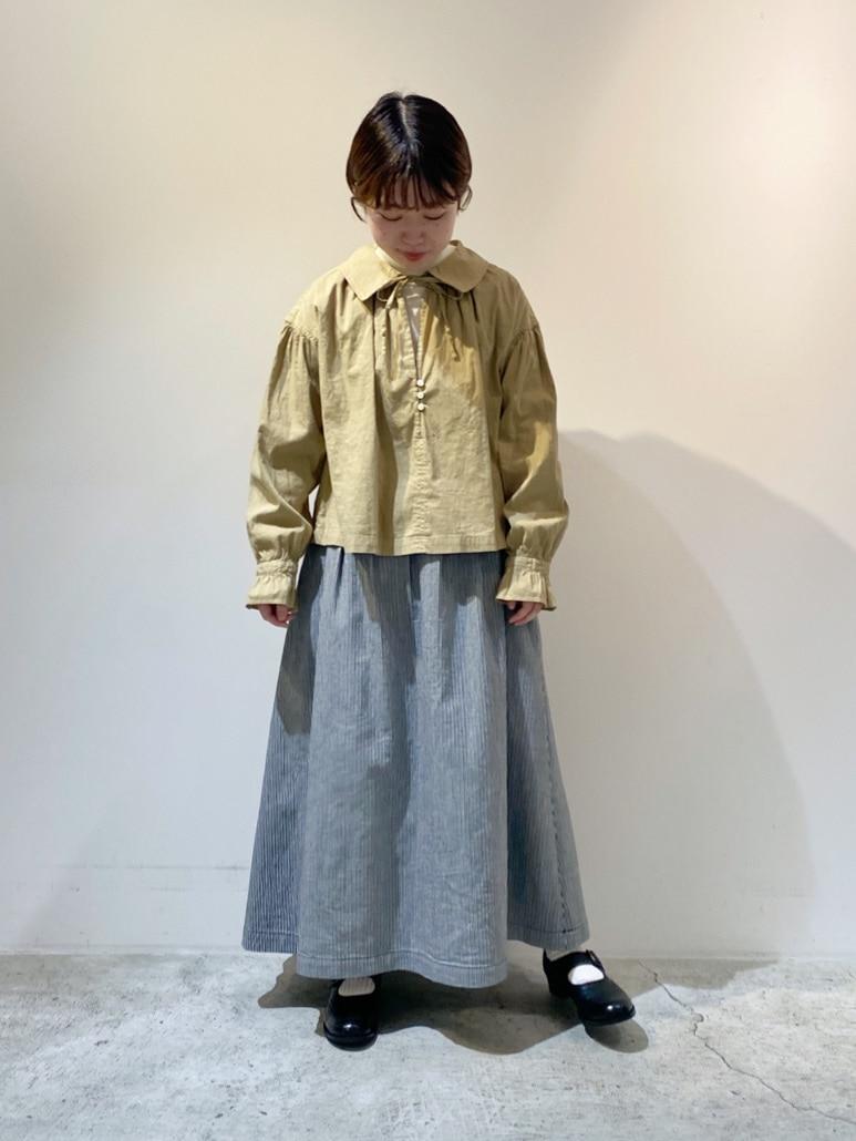 chambre de charme 京都路面 身長:150cm 2021.01.04
